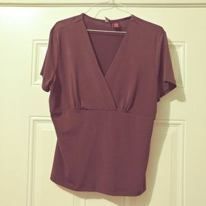 💰3/$25 Merona V Neck Tower Waist Blouse
